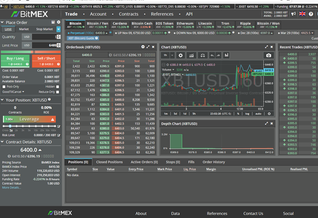 Bitmex Data Download