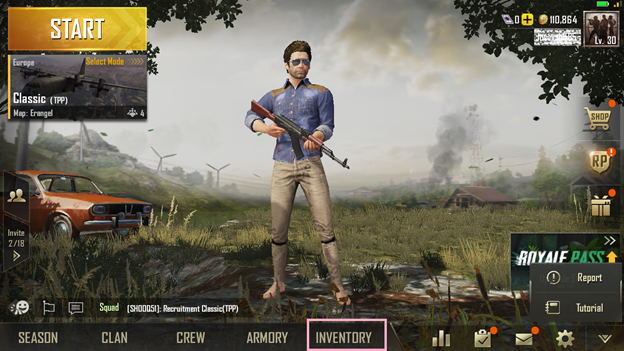 How to Change Nickname and Appearance in PUBG Mobile
