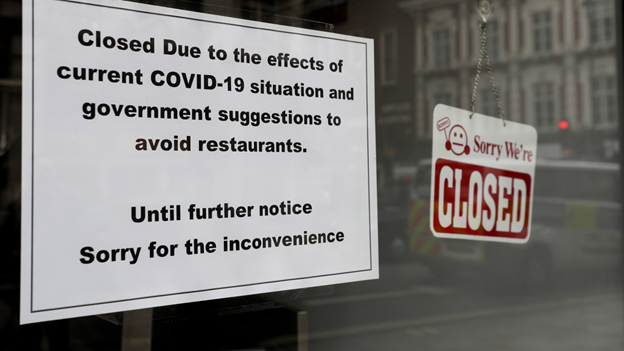 Store closed during Covid-19