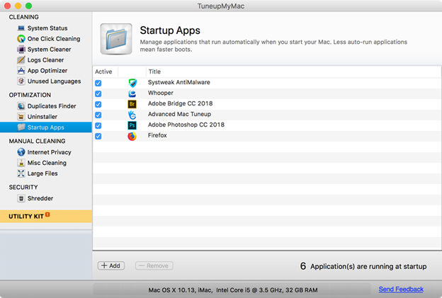 TuneupMyMac App Review - Systweak Software - Medium