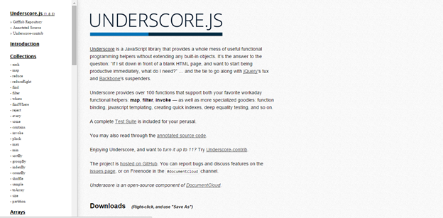 5 best resources to learn Underscore js - Eduonix Learning Solution