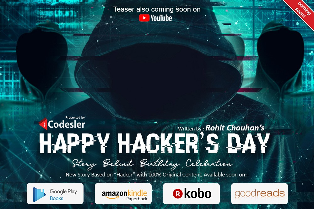 Happy Hacker's Day | Rohit Chouhan Author