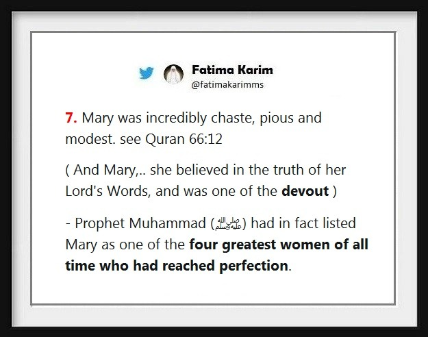 virgin Mary and Jesus Christ in the Quran - Fatima Karim - Medium
