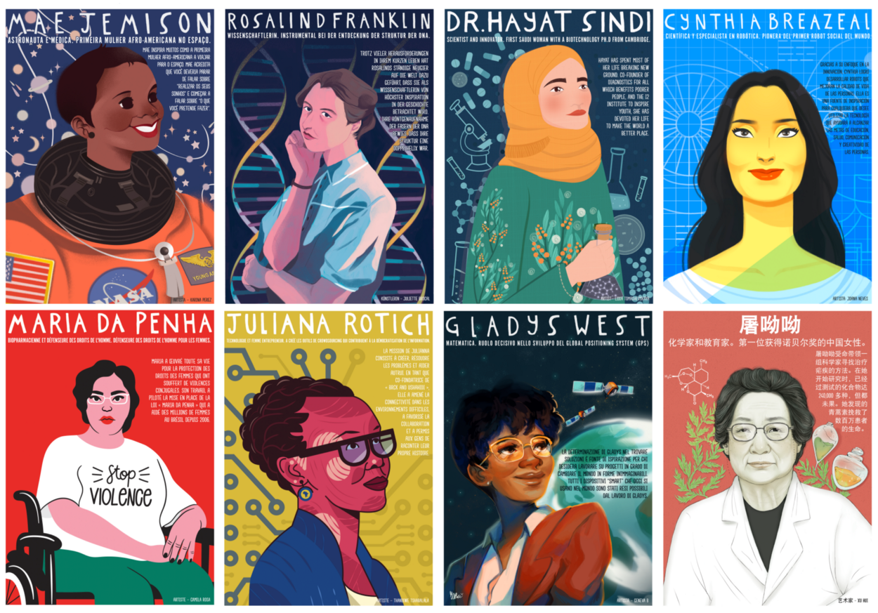 Women in STEM Posters from Nevertheless