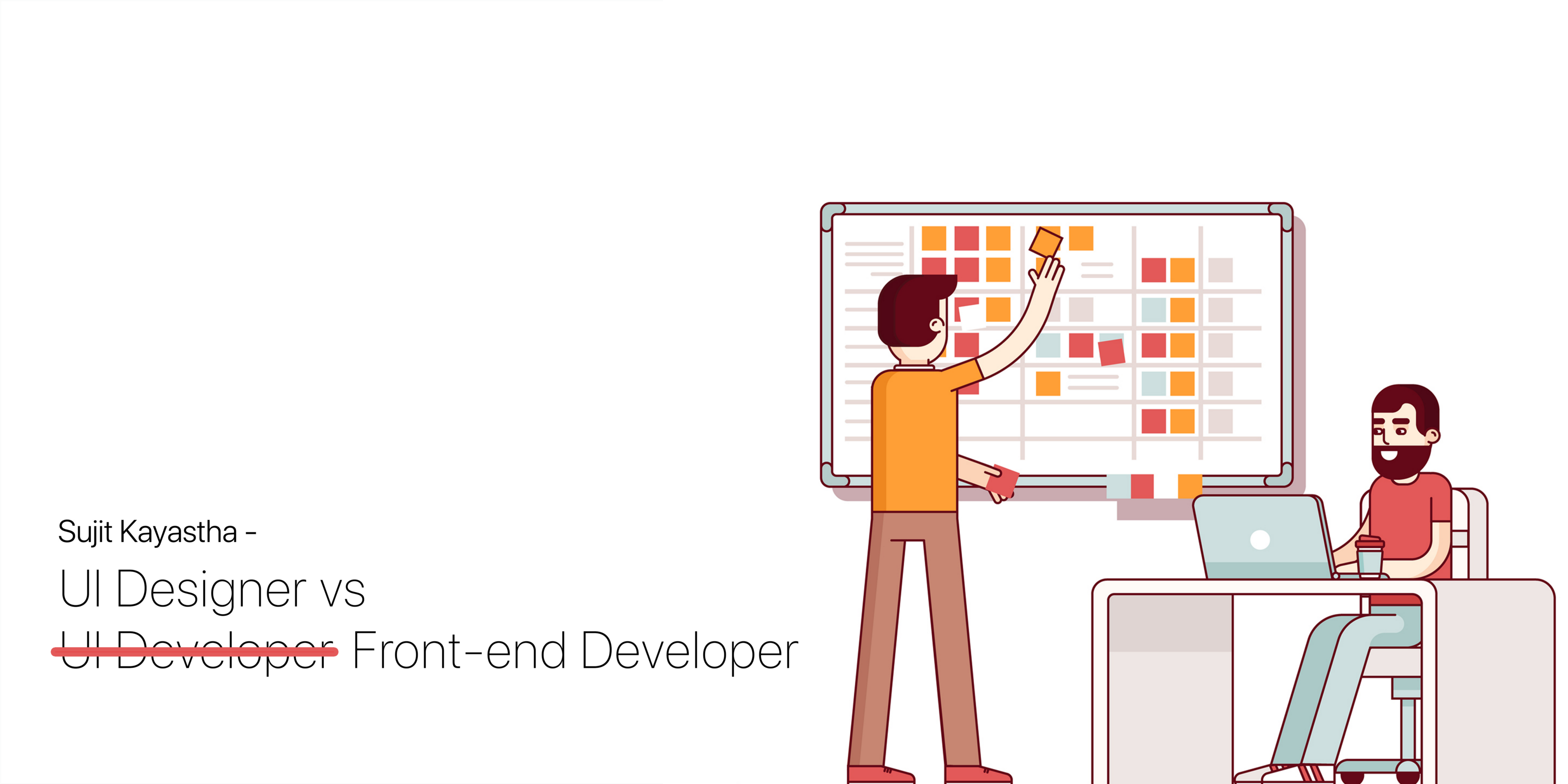 Difference Between UI Designer and Front-end (UI) Developer