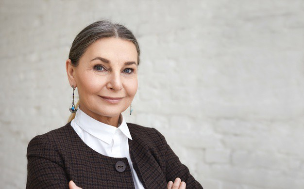 Image of mature business woman