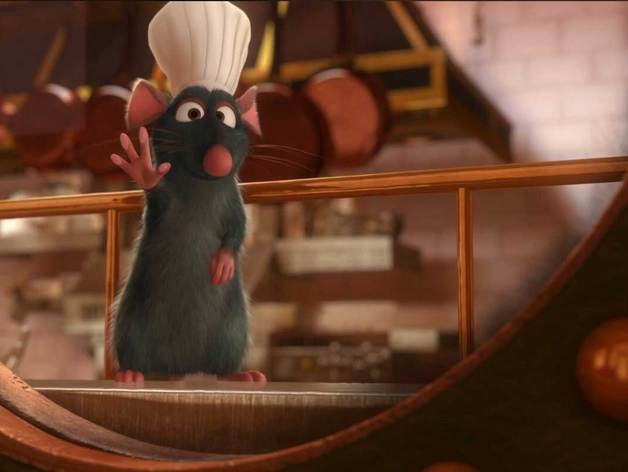 chef remy from ratatouille