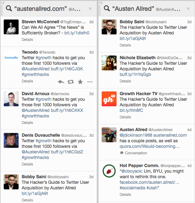 Growth Hacking Twitter — The Ultimate Guide - Austen