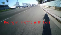 Riding in Traffic with Cars