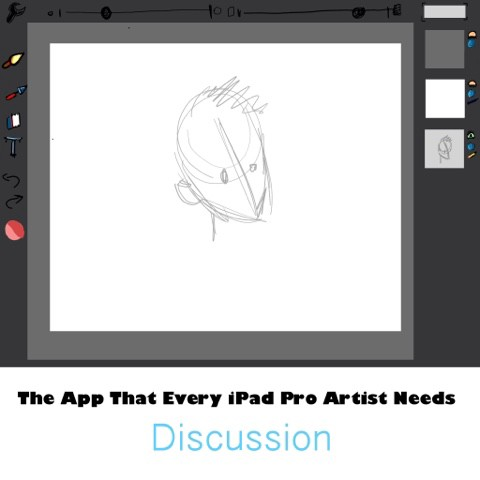 Everybody knows about Procreate, possibly because the App