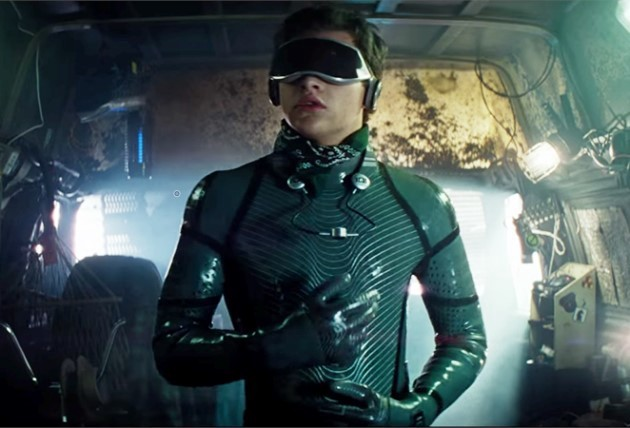 Full body haptic suit in 'Ready Player One'. Image Credit: Warner Bros
