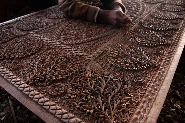 Walnut Wood Carving from Jammu and Kashmir | by Direct Create Community |  Direct Create | Medium