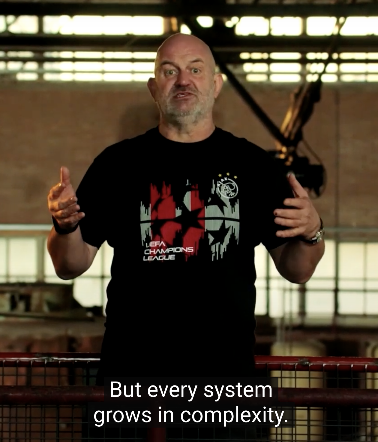 Werner Vogels, systems grow in complexity