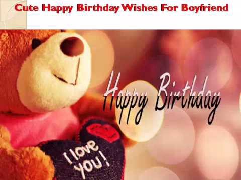 Happy Birthday Wishes For BoyFriend Whatsapp Animation Message Greetings Video
