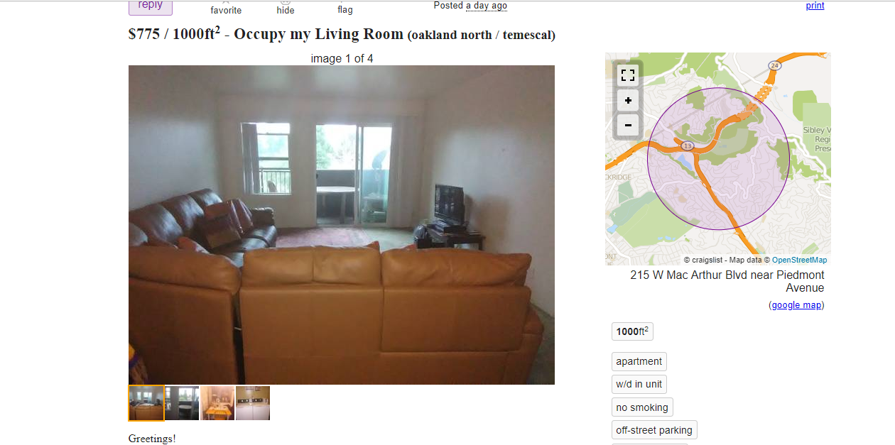The Sketchiest Bay Area Apartments You Can Rent in September