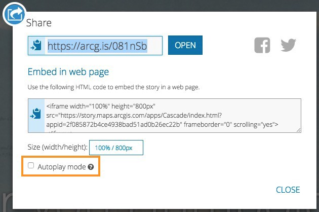 Using Story Map URL Parameters - Story Maps Developers