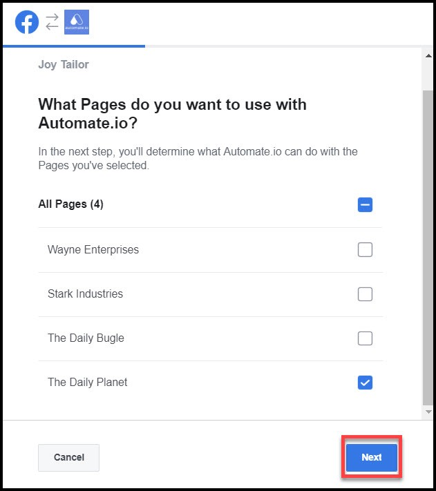 select-facebook-pages