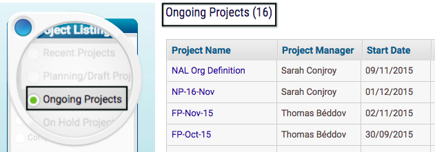 Number of Ongoing Projects for Me - KPI for Project Team Member