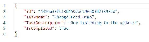 Implementing Cosmos DB Change Feed using Azure Functions in C#