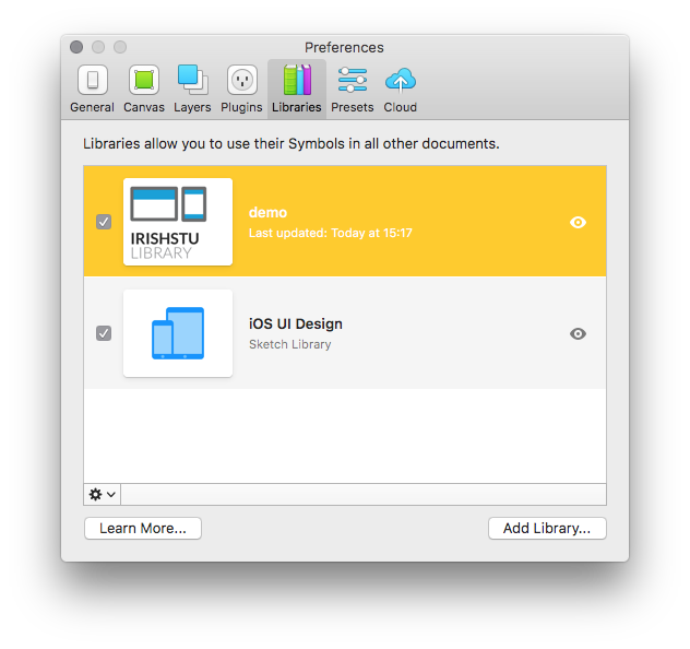 Customising The Sketch Library Preview Image Beta By Stewart Curry Prototypr