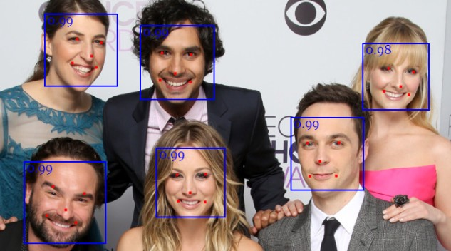 Realtime JavaScript Face Tracking and Face Recognition using face