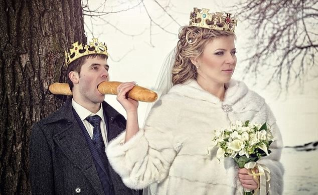 20 Amazing Wedding Photos That Will Make You Say WTF : Trends