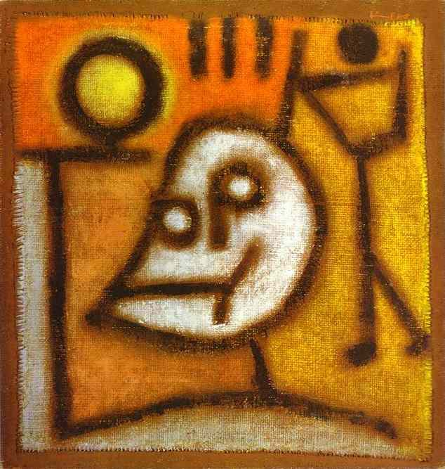 Death and Fire, by Paul Klee