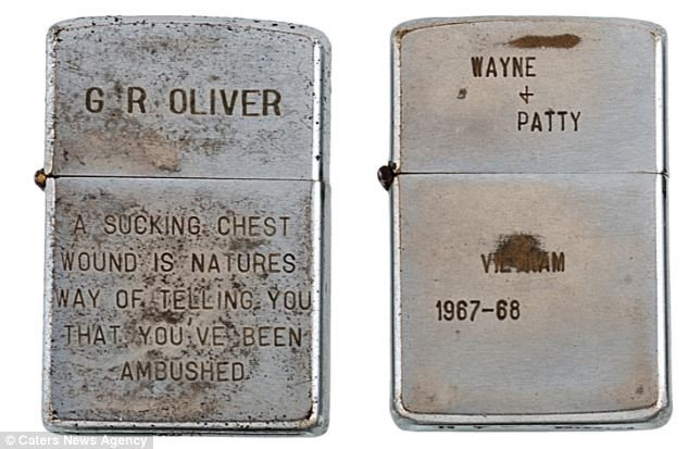 Poignant, Funny And Ironic  Soldiers Inscriptions On Zippo