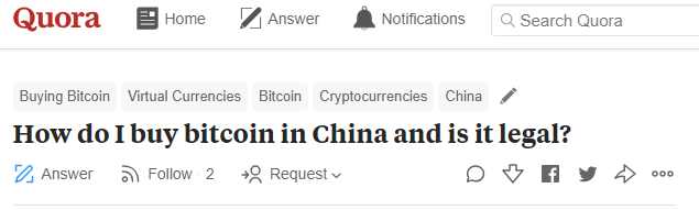 Is It Illegal for Chinese to Buy Bitcoin Overseas? - Crypto