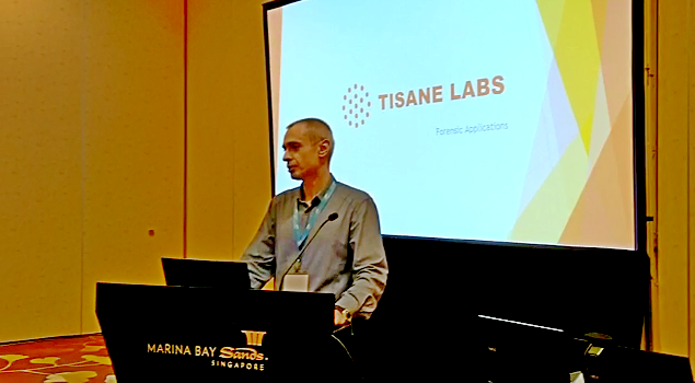 Tisane Labs at the Interpol World '19