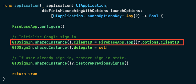 Retrieve client ID from GoogleService-Info.plist using Swift