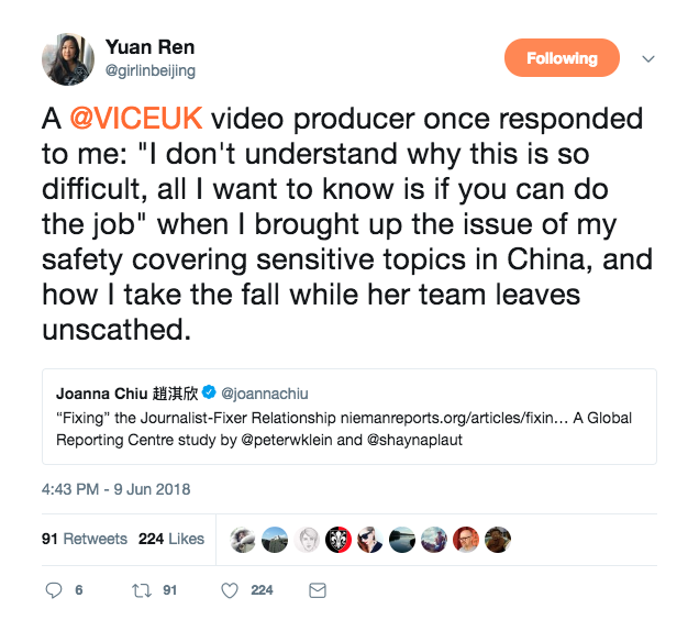 Shenzhen Tech Girl Naomi Wu: My experience with Sarah Jeong