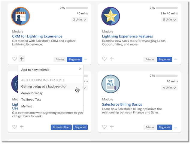 Trailmixes: Your Personal Learning Playlists for Trailhead