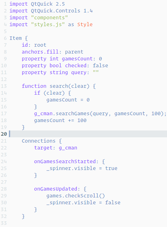 SublimeMaterial, a QtCreator syntax color theme based on