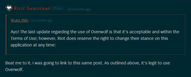 Is Overwolf Going To Get Me Banned By Sophie Duval Medium