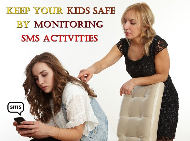 kids cell phone sms monitoring application