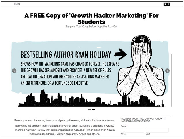 How To Growth Hack a Book: MVP to Bestseller - Ryan Holiday