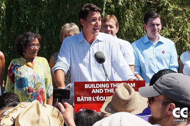 Liberal Party of Canada Leader Justin Trudeau was in Vancouver for a BBQ with supporters. Marijuana activist Jodie Emery, who is hoping to run for the Liberals in the next election, was also at the event, though the two didn't get the chance to meet.