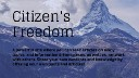 Citizen's Freedom