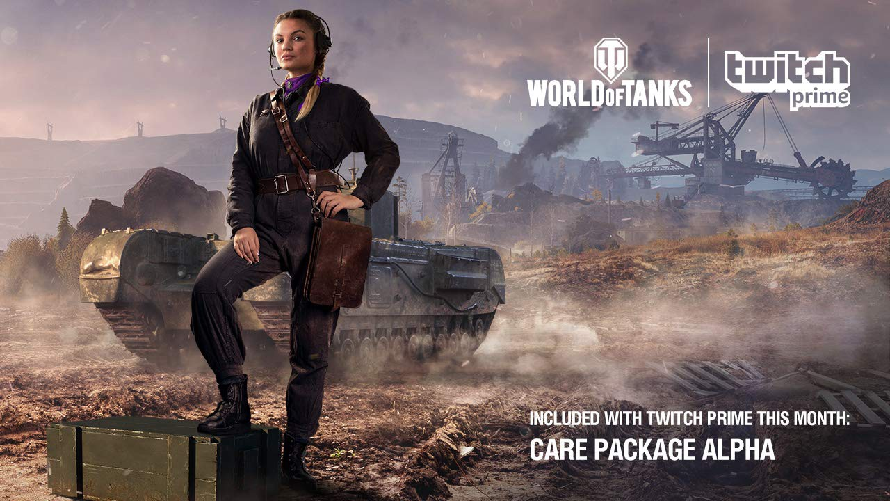 Twitch Prime members, World of Tanks: Care Package Alpha is