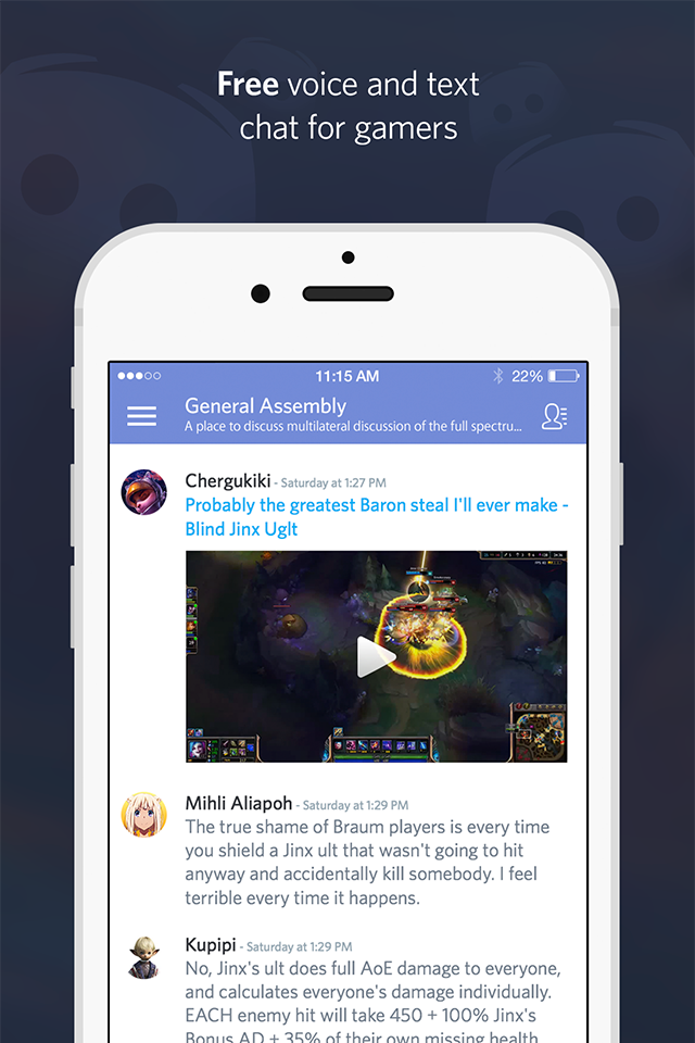 Discord iOS & Android Mobile Apps are Here! - Discord Blog