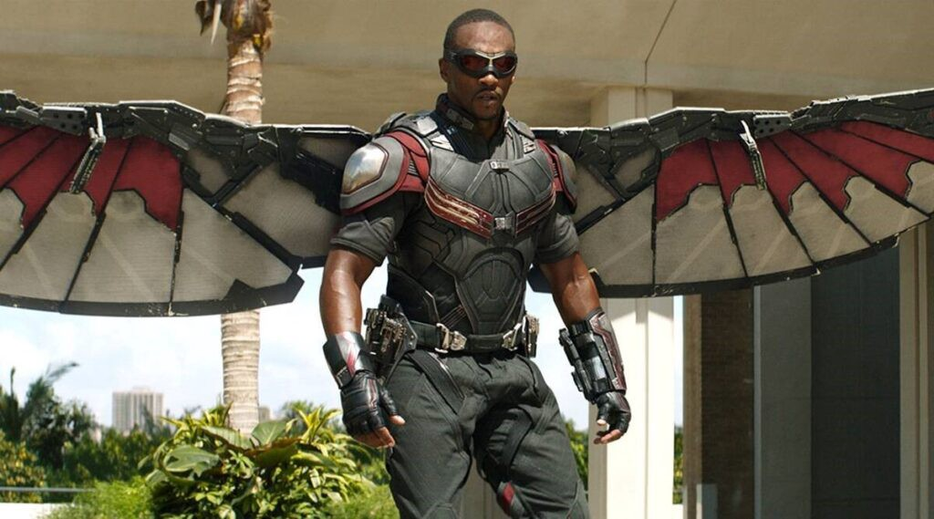 Anthony Mackie Still Can't Believe He's 'Captain America br /br