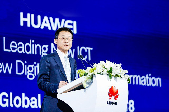 Ma Yue, Vice President of Huawei Enterprise Business Group, President of EBG Global Sales