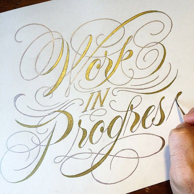 27 Great Lettering & Calligraphy Designs - From up North
