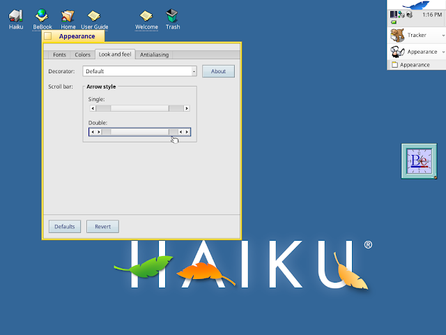 A look at Haiku, not quite beta (but getting there)