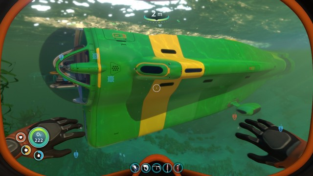 My subnautica cyclops, the SS Lady Saw