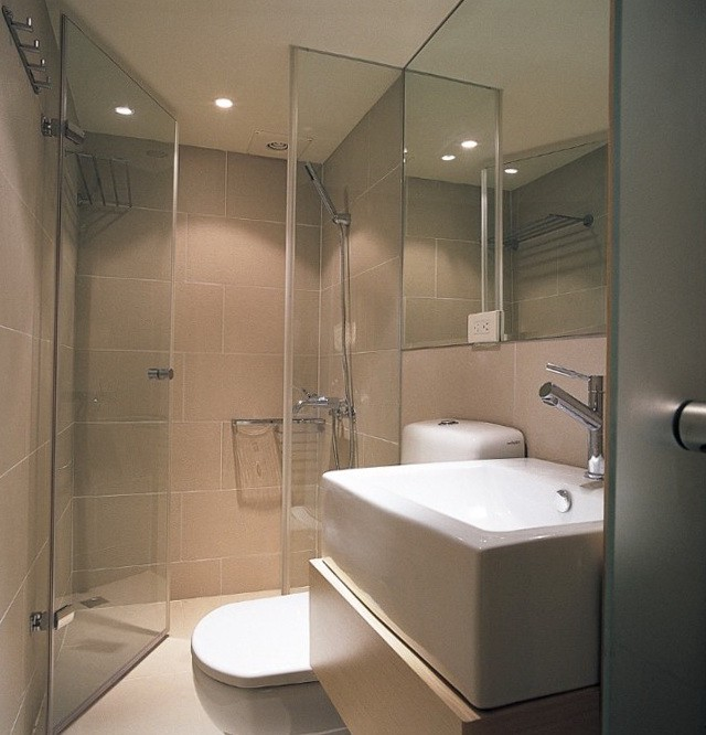 Modern Bathroom Designs For Small Spaces By Putra Sulung Medium