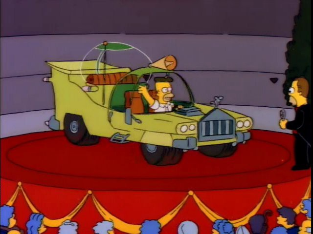 presenting the car designed for the average man…