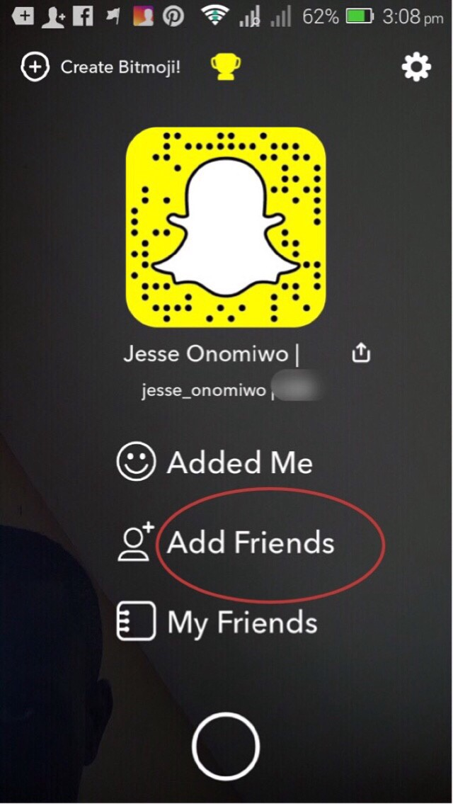 4 Easy Steps to find your Snapchat URL - Jesse Onomiwo - Medium