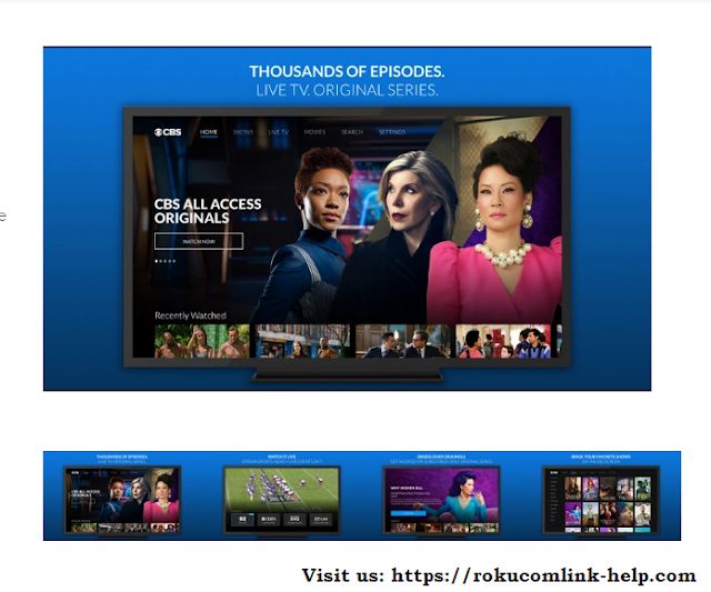 Activate CBS All Access on Roku | cbs.com/roku | roku channels 2020